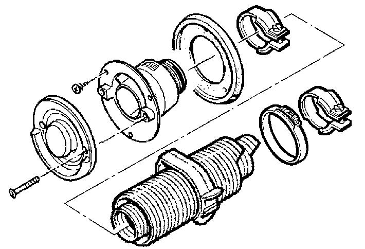 Schoorsteensets en parts