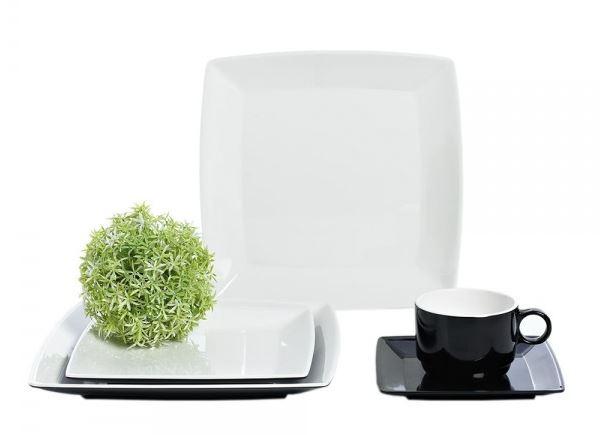 Gimex Quadrato Zwart / Wit
