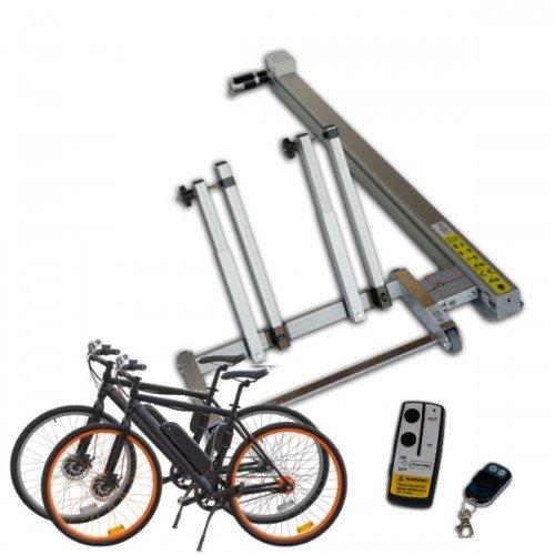 Fiets-E-Bike, Scooter en motor laadbaan voor garage