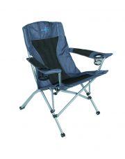 Bo-Camp Vouwstoel Deluxe Comfort grijs