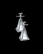 Optima Aluminium Assteunen per 2