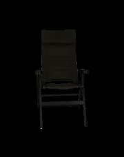 Travellife Barletta stoel Comfort Flex zwart