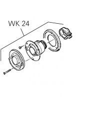 WANDSCHOORSTEEN WK24 ZWART