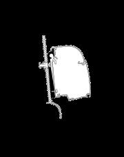 Thule Adapter kit Westfalia 2 stuks