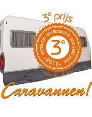 Bo-Camp Caravan tochtstrook Universeel deluxe Grijs