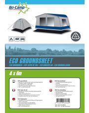 Bo-Camp Gronddoek Eco 4 x 6 Meter Zwart