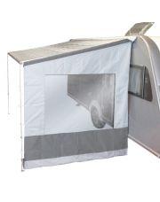 Bo-Camp Zijwand voor luifel Universeel 2,50 Meter Licht grijs