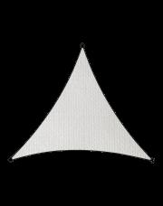 Livin'outdoor schaduwdoek Iseo HDPE driehoek 3.6m wit