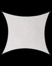 Livin'outdoor schaduwdoek Iseo HDPE vierkant 3.6m wit
