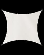 Livin'outdoor schaduwdoek Como polyester vierkant 5m wit