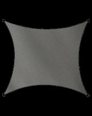 Livin'outdoor schaduwdoek Como polyester vierkant 5m antraciet