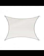 Livin'outdoor schaduwdoek Como polyester rechthoek 3x4m wit