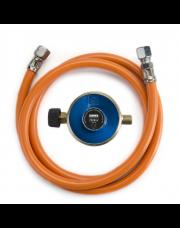 Gimeg gasdrukregelaarset Campingaz 29 mbar Campingaz X 1/4 inch links (150 cm)