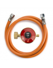 Gimeg gasdrukregelaarset afblaasbeveiliging 30 mbar Kombi X 1/4 inch links (60 cm)