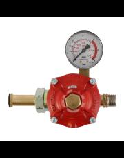 Gimeg instelbare gasdrukregelaar 0-6bar Shell X 3/8 inch links 12kg