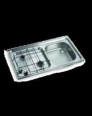 Dometic HS 2421 R Kookplaat en Spoelbak