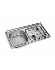 Dometic HS 2421 L Kookplaat en Spoelbak