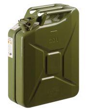 Benzinejerrycan metaal groen 20ltr