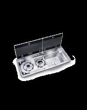 Dometic MO 9722R Kookplaat en Spoelbak