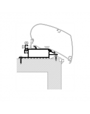 Thule 3200 Roof Rack Adapter