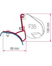 Fiamma Kit F35 Renault Trafic, Opel Vivaro, Nissan Primastar