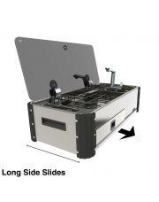 Can SL1400 Combinatie uitschuifeenheid met twee kookplaten en spoelbak