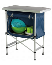 Eurotrail Campingkast Melun blauw/grijs