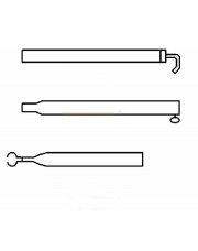 Extra Dakligger Basic Quality 22/19mm 170 - 250cm