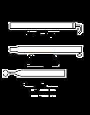 Extra Dakligger Aluminium 25/22mm 170 - 260cm