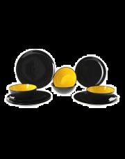Gimex Greyline Yellow Servies 12 Delig