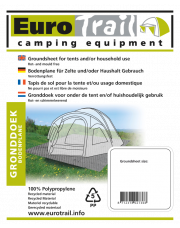 Eurotrail gronddoek 300x600cm