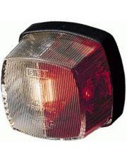 Hella contourlicht opbouw rood/ wit 62x62mm