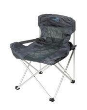 Bo-Camp Vouwstoel Deluxe Compact grijs