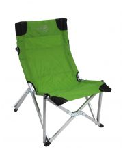 Beach Chair Compact Deluxe Groen/Grijs