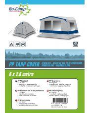 Bo-Camp Afdekzeil 5 x 2,5 Meter Grijs