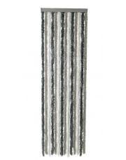 Vliegengordijn wit/gri/ant 90x220cm
