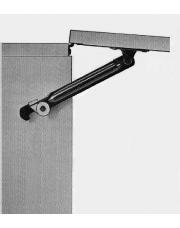 Metalen kastklep-uitzetter met knop Rechts handig