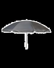 Bo-Camp Parasol Met knikarm Ø 165 cm Grijs