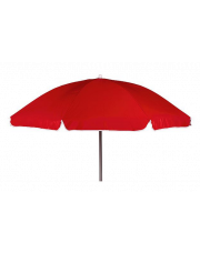 Bo-Camp Parasol Met Knikarm Ø 165 cm Rood