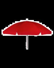 Bo-Camp Parasol met Knikarm Ø 200 cm Rood
