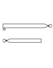 Spanstok Basic Quality 22/19mm 70 - 120cm
