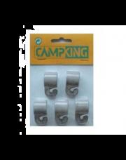 Tentclip met haak 25 x 28 mm Nylon per 5