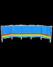 Bo-Camp Strandwindscherm Atiya 5-Vaks 4,6x0,9 Meter