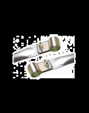 Verandastok Aluminium 25 x 22mm 120 - 200cm