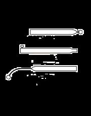 Voortentspanstok Basic Quality 22/19mm 90 - 140cm