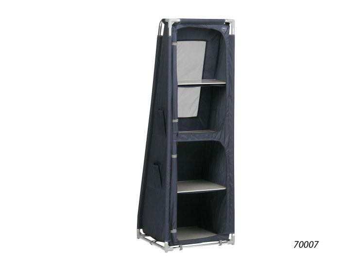 Opbergkast Voor Schuine Wand.Defa Opbergkast Schuin H140 Blauw Kampeerdump Nl Online