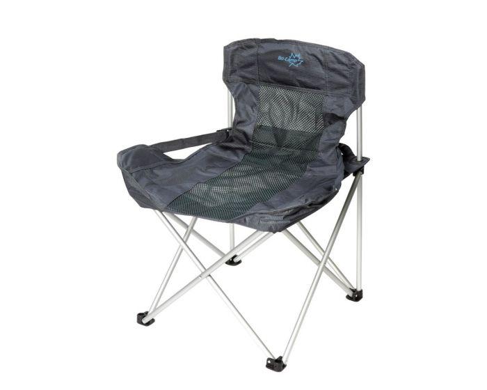 Bo Camp Vouwstoel.Bo Camp Vouwstoel Deluxe Compact Grijs