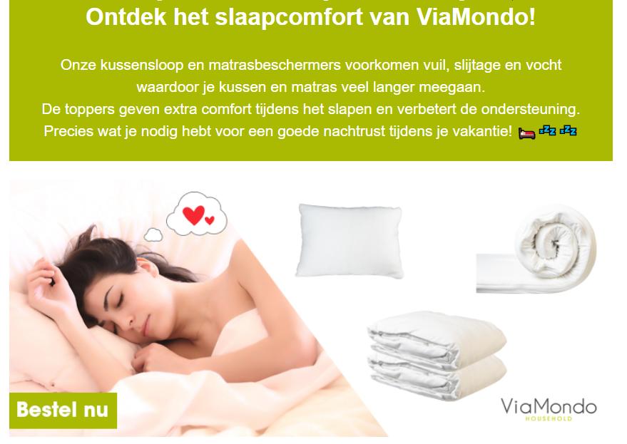 ViaMondo Slaapcomfort